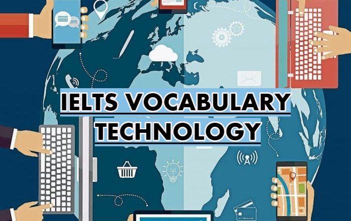 IELTS Technology Vocabulary