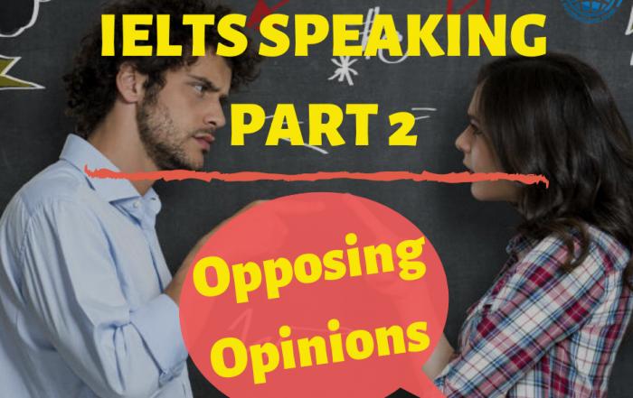 IELTS Offer an Opposing Opinion
