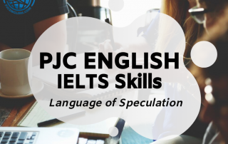 IELTS Language of Speculation