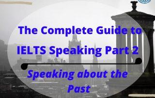 IELTS Speaking Past tense